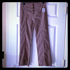 NWT Free People Trousers!!!  Size 8!